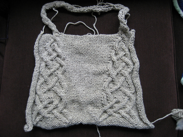 Side One of Celtic Tote