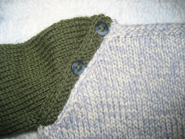 Close Up of Button Placket