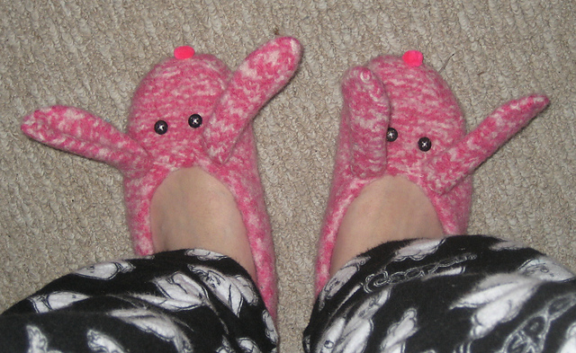 My Bunny Slippers
