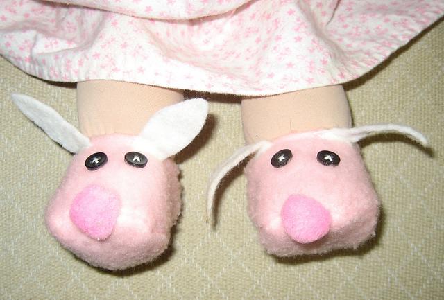 Benita's Bunny Slippers