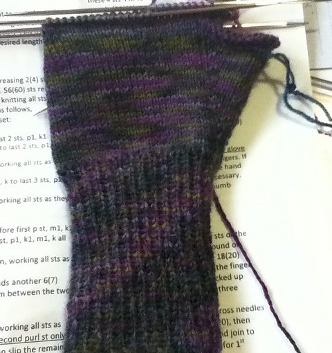 Podster Gloves In Progress