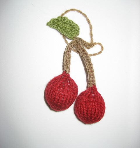 Cherry Ornament
