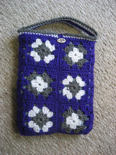 Granny Sqaure iPad Case
