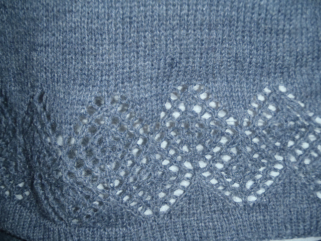 Close Up of the Arachne Cardi Lace