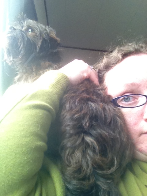 Charlie on my Shoulder