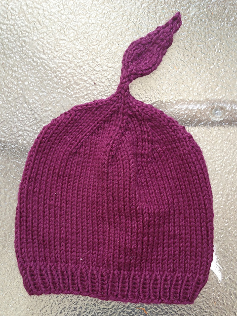 Purpleleaf Baby Hat