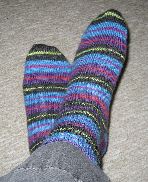 Regia Canyon Socks Modelled