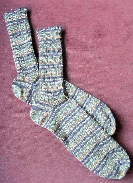 Mathew's 3rd Socks